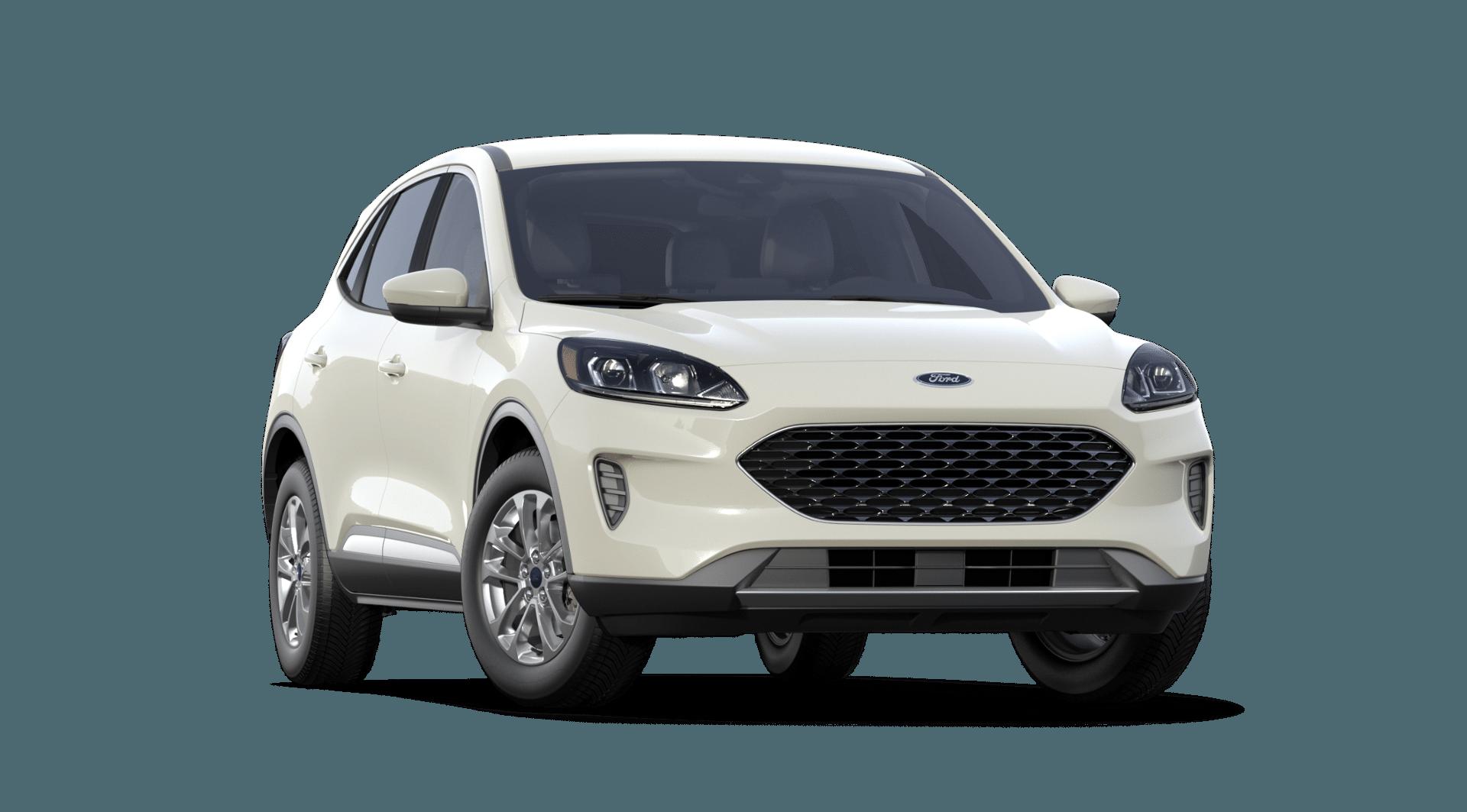 2020 Ford Escape Star White