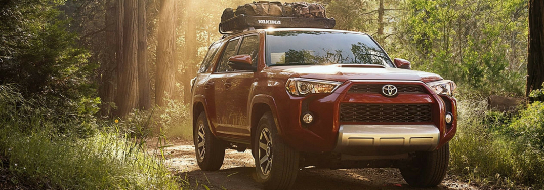 full view of 2018 toyota 4runner