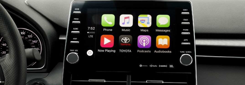 toyota cars with apple carplay toyota of massapequa. Black Bedroom Furniture Sets. Home Design Ideas