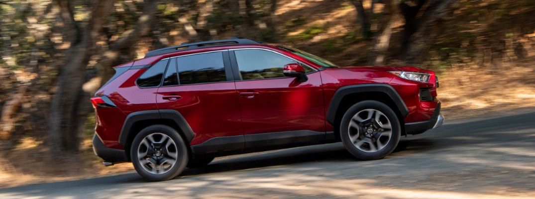 2019 Toyota Adventure in Ruby Red