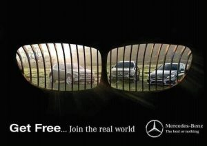 BMW_grill_plate_Mercedes-Benz_jail