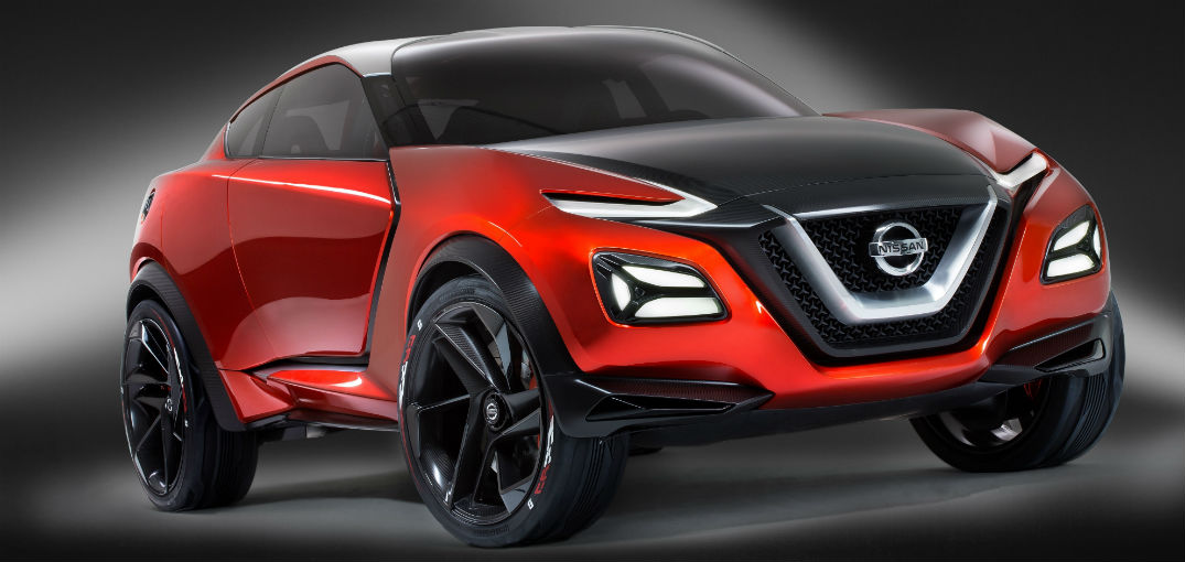 Nissan debuts 370Z-inspired Gripz Concept crossover in Germany