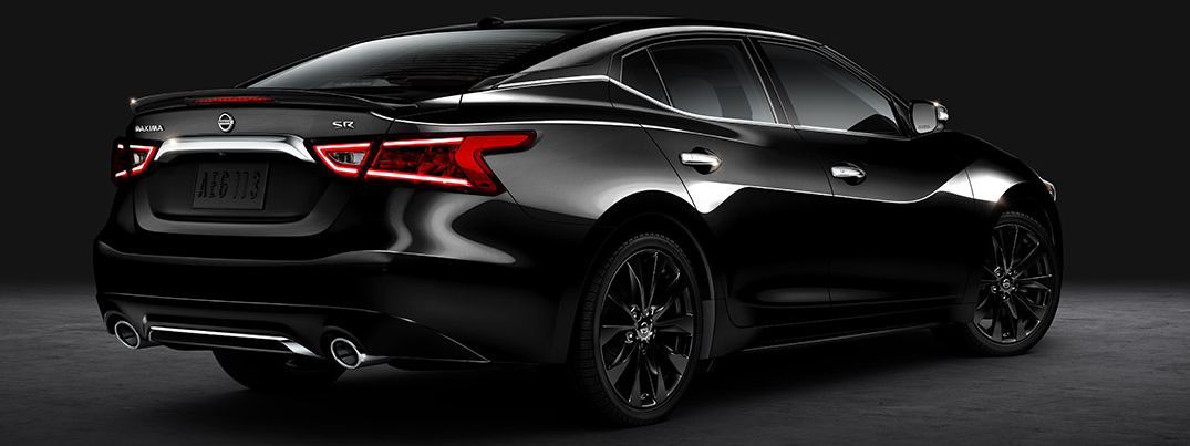 introducing the 2016 nissan maxima midnight edition. Black Bedroom Furniture Sets. Home Design Ideas