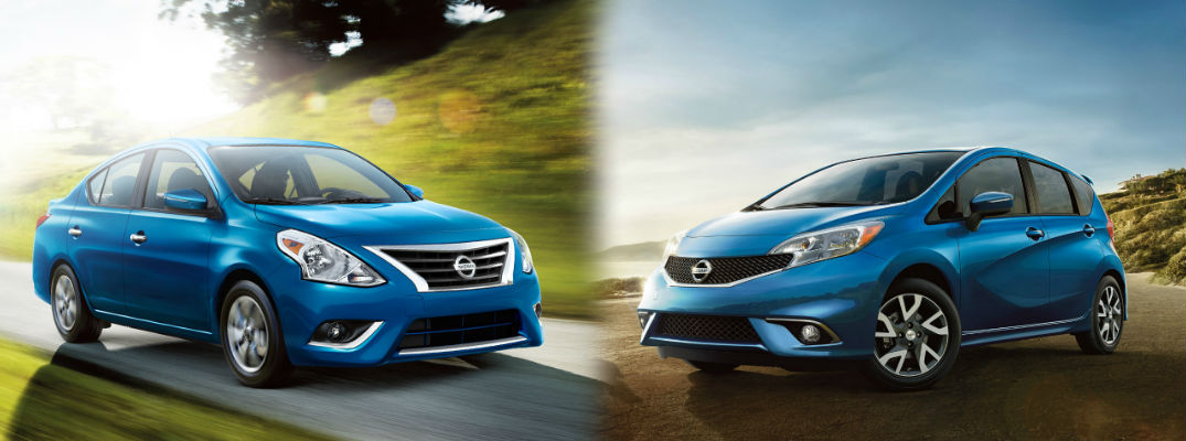 Which is more spacious, the 2017 Versa or the Versa Note?