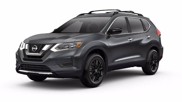 new 2017 nissan rogue midnight edition features. Black Bedroom Furniture Sets. Home Design Ideas