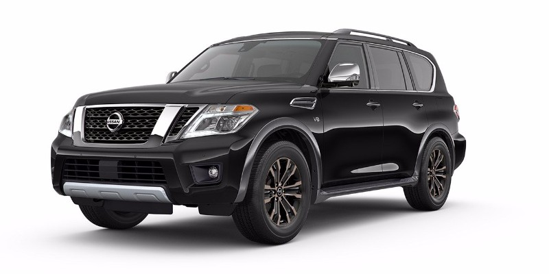 2018 Nissan Armada Super Black