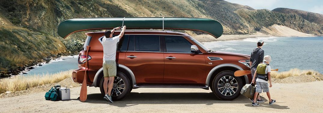 2018 nissan armada in forged copper