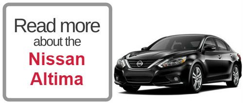 Image of the Nissan Altima that says Read more about the Nissan Altima