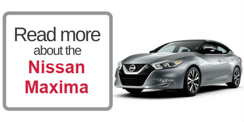 button that says read mor about the nissan maxima