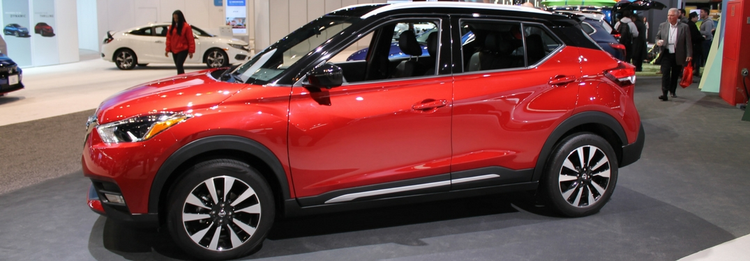 2019 Nissan Kicks at the 2018 Chicago Auto Show