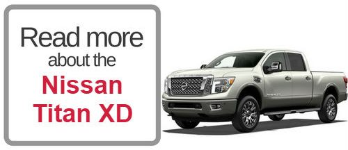 button that says read more about hte Nissan Titan XD