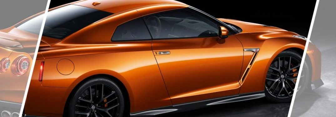 View the exterior color options for the sporty 2018 Nissan GT-R