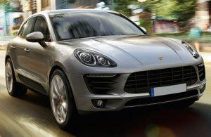 2018 Porsche Macan exterior profile