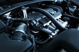 generic engine in vehicle