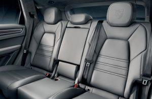 rear seats in the 2018 Cayenne