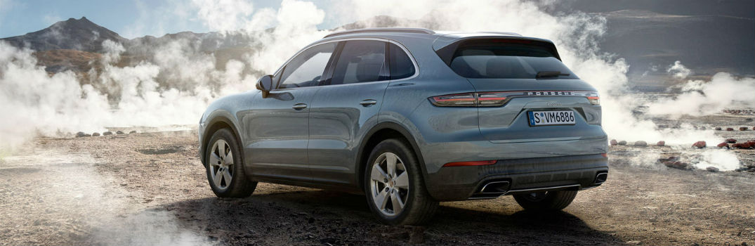 2018 Cayenne rear exterior profile