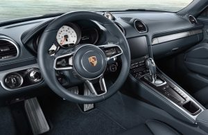 2019 718 Cayman front interior