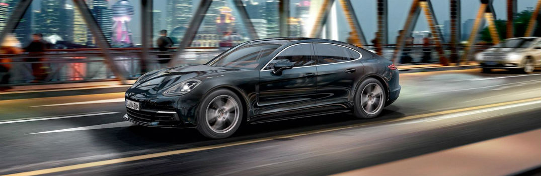 2019 Porsche Panamera on the road