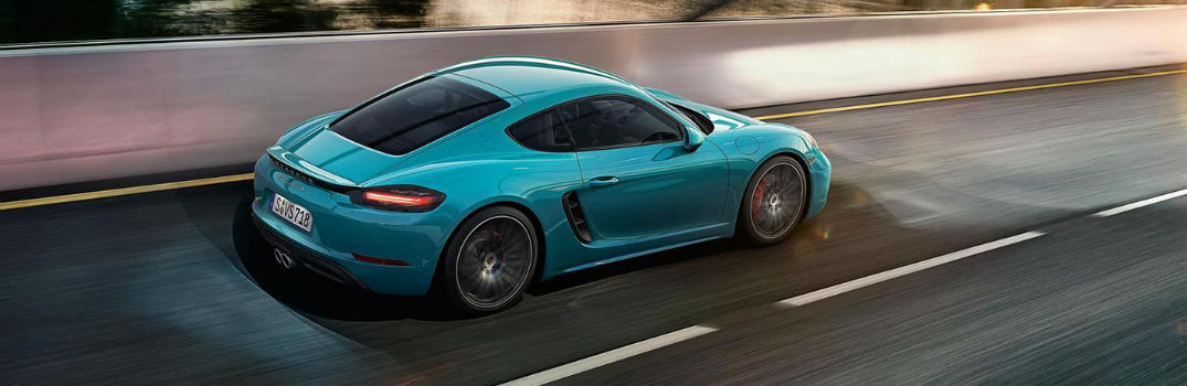 Performance Features in the 2019 718 Cayman GTS