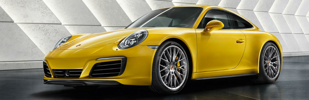 YELLOW PORSCHE carrera s