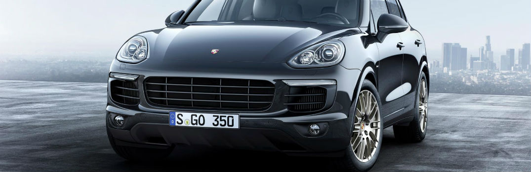 close-up look at the Porsche Cayenne