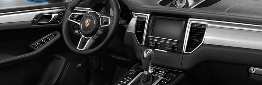 front interior of the 2019 Porsche Macan