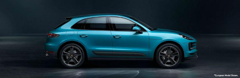 2020 Porsche Macan side exterior profile