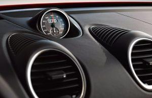 dashboard of the 2020 Porsche 718 Cayman