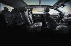2019 Kia Sorento passenger seats