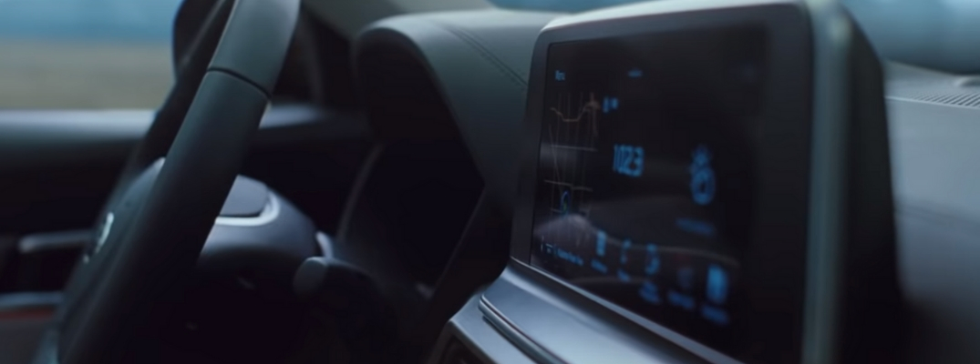 Screenshot of Official 2020 Kia Telluride Interior Video