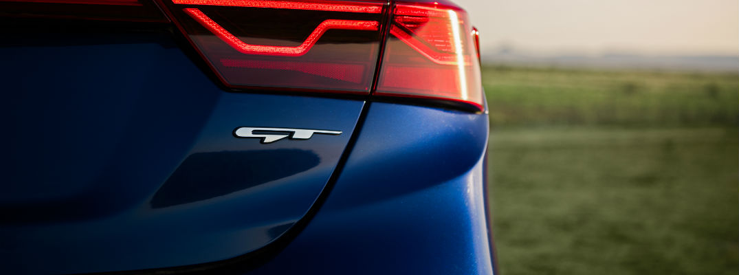 The GT badge more than just a slick piece of marketing for Kia vehicles