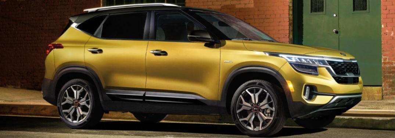 2021 Kia Seltos exterior front fascia passenger side