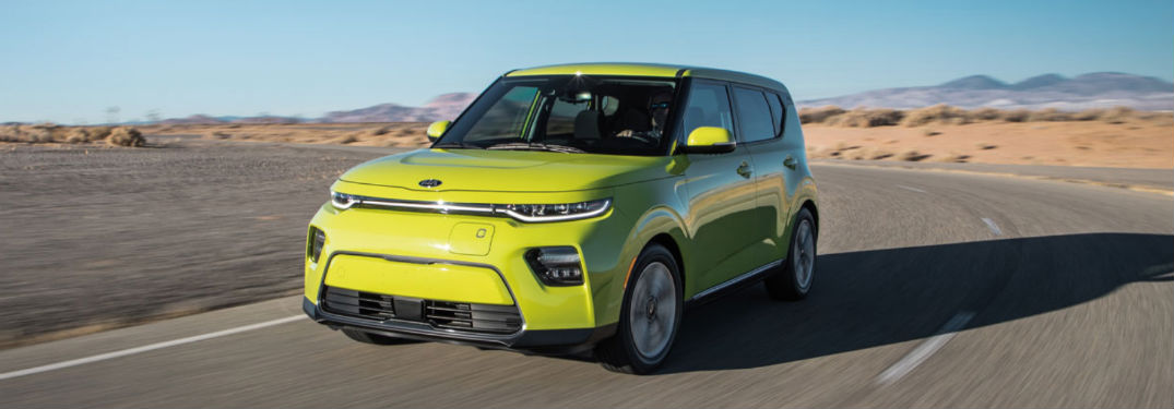 2021 Kia Seltos exterior front fascia driver side on blurred road