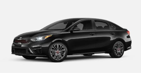 Aurora Black Pearl 2020 Kia Forte exterior front fascia driver side