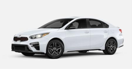 Clear White 2020 Kia Forte exterior front fascia driver side