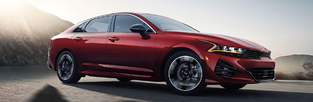 What are the 2021 Kia K5 exterior paint color options?