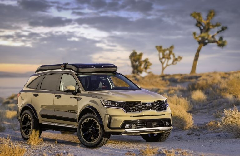Kia Sorento Zion Edition exterior front fascia passenger side