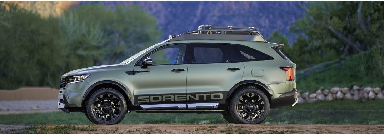 Kia Sorento yosemite Edition exterior driver side profile