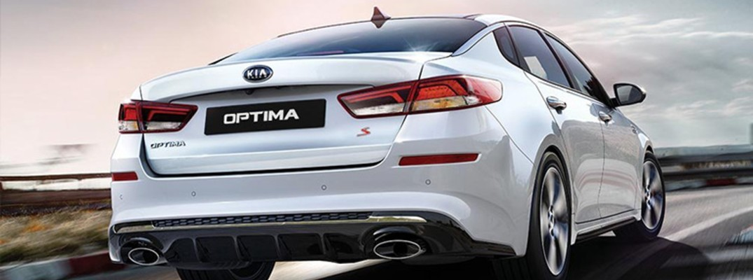 2019 Kia Optima exterior rear fascia partial passenger side
