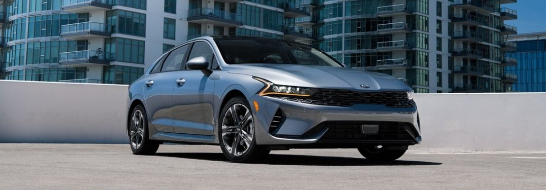 What safety technologies are on the 2021 Kia K5?