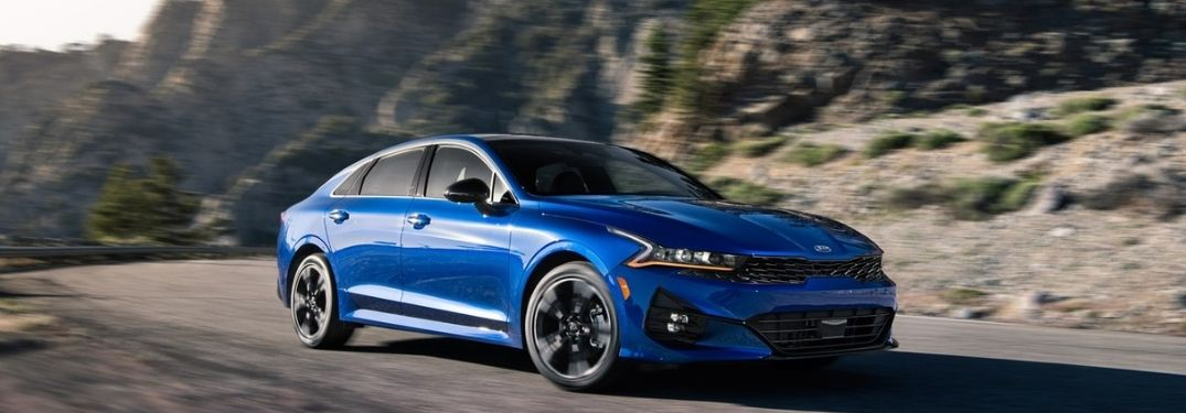 How much power does the 2021 Kia K5 sedan?