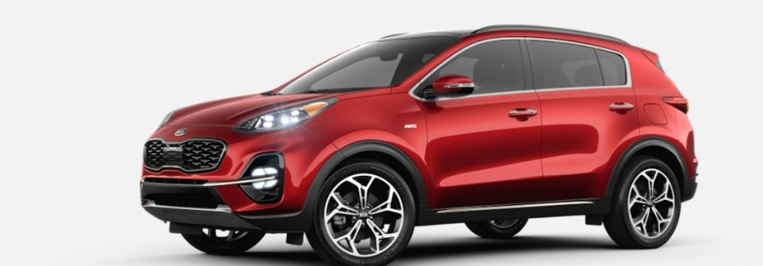 2022 Kia Sportage cargo space and technology features