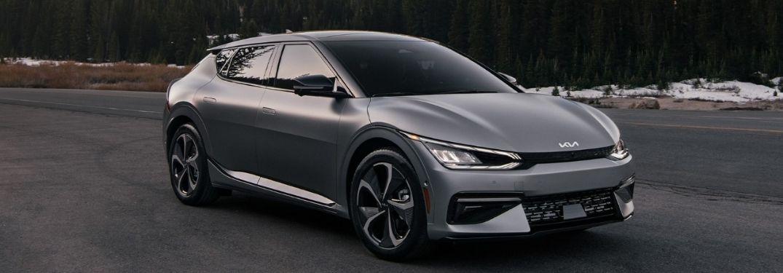 2022 Kia EV6 exterior front fascia passenger side