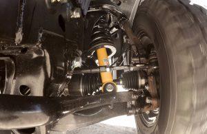 2018 Nissan TITAN XD suspension