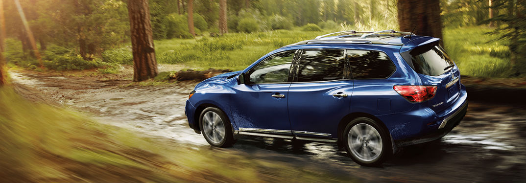 Take on the road with the 2018 Nissan Pathfinder