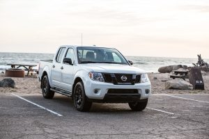 2019 Nissan Frontier in a parking lot