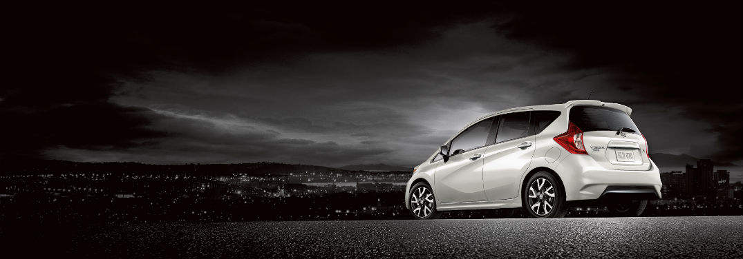 2019 Nissan Versa Pricing and Features with image of 2019 Nissan Versa Note in black and white