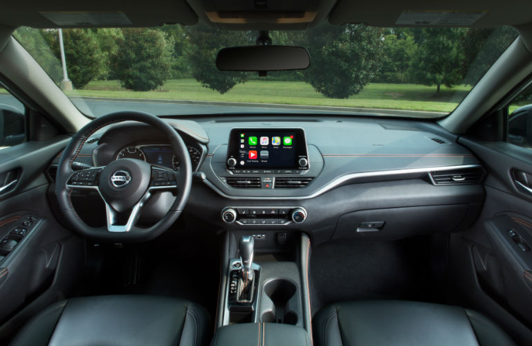 2019 Nissan Altima front interior view