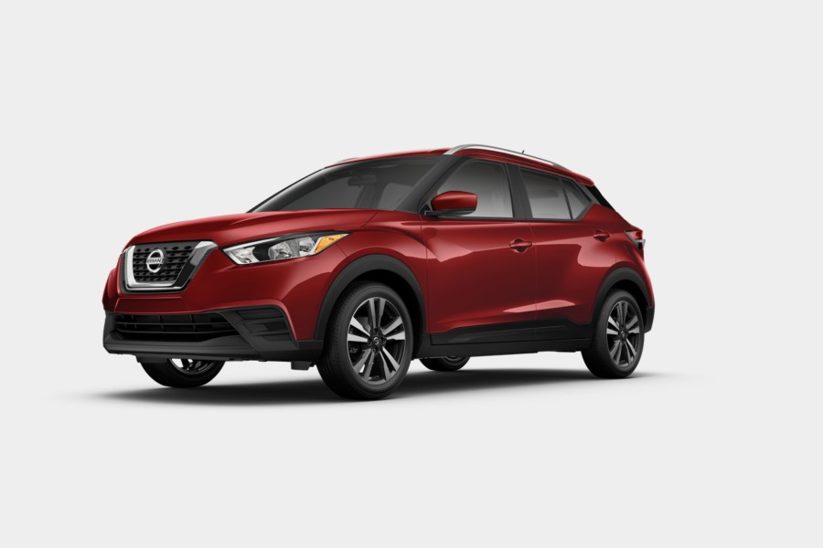 2019 Nissan Kicks Cayenne Red Metallic