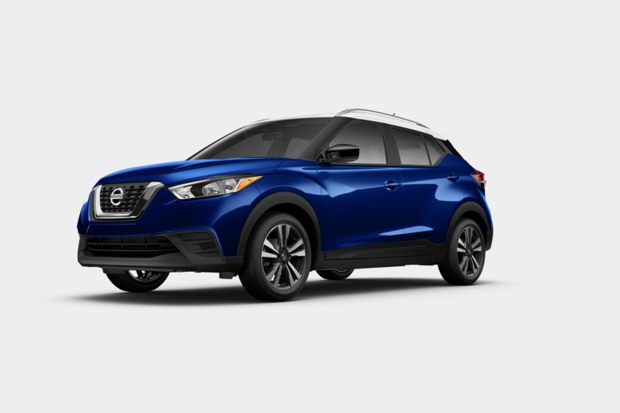 2019 Nissan Kicks Deep Blue Pearl Fresh Powder